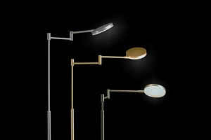 HOLTKOET,9656-1-79,LED Floor lamp PLANO B Brushed Aluminium,    CRI>90