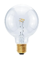 SG-50166 , Segula Led Lamp Globe 95   Curved plus Point clear