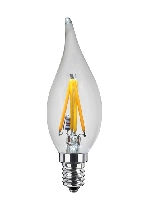 SG-50237 , Segula Led Lamp Candle Windblow  clear Ambient Dimming