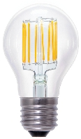 SG-50337 , Segula Led Lamp Bulb  clear Vintage Line Twisted