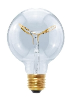 SG-50409 , Segula Led Lamp Globe 95  Curved Plus Butterfly clear