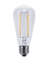 SG-50700 , Segula Led Lamp Rustika  clear Long Style  Vintage Line X-Style